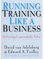 Running Training Like A Business